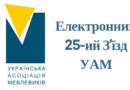 (Українська) Проведення 25-го З'їзду Української Асоціації Меблевиків