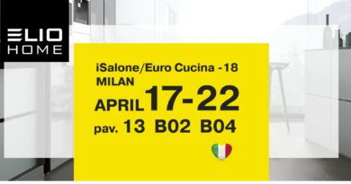 ELIO HOME at the Salone del Mobile.Milano – 2018