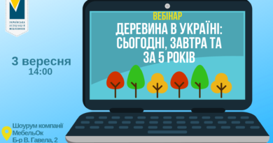 "Webinar ""Wood in Ukraine: today, tomorrow and 5 years later"""