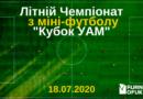 Летний чемпионат по мини-футболу «Кубок УАМ» 2020