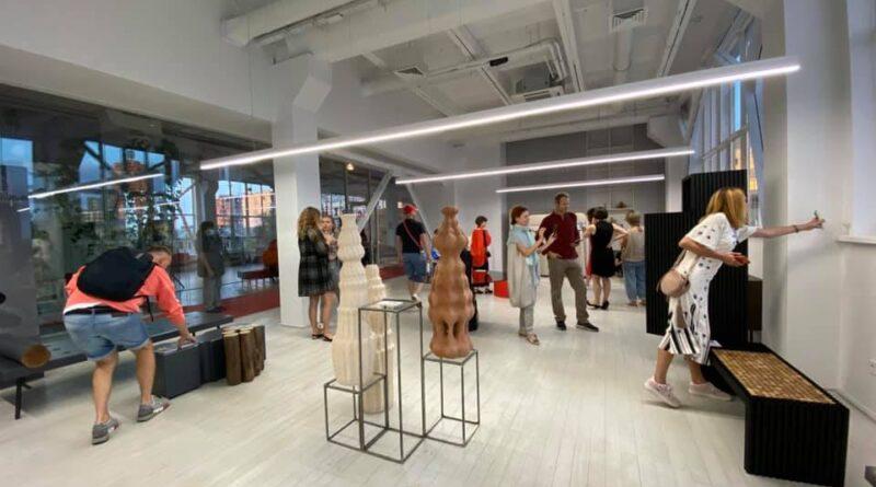 Открытие выставки предметного дизайна